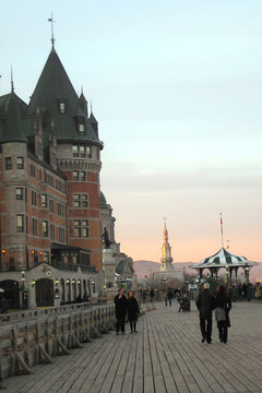 Quebec city stroll