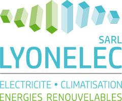 Logo LyonElec - Climatisation Electricité Energies renouvelables