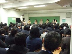 「裁判員劇」にて中学校授業参加