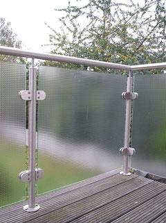 Balkonbrüstung in Mastercaree