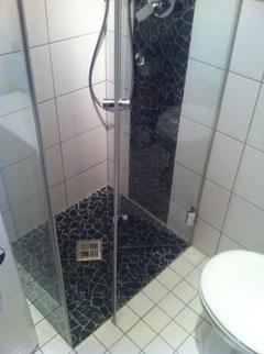 Dusche nach innen faltbar