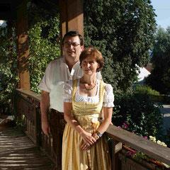 Ihre Gastgeber:  Rudi und Franziska