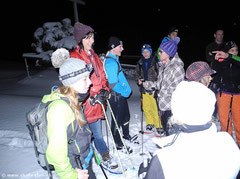 JUKA Schnee Schuh Wanderung mit Fondue & Schlittelplausch Samstag, 2. Feb. 2013