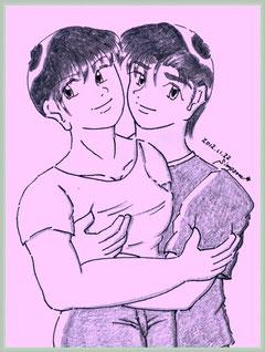 マユミとケンジ