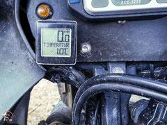 Argentinien - Südamerika - Reise - Motorrad - Honda Transalp - Camping - Kühle Temperaturen in Esquel