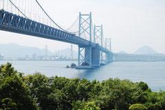 行きは瀬戸大橋…うどんはもうそこに。