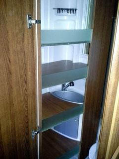Modularer Umbau von Bad zu Ablagefläche Rückbaubar auf Original