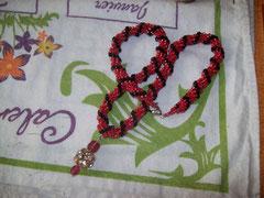 Spiral rope rouge et noir