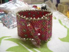 Bracelet tissé peyote