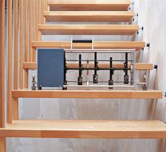 Bucher Treppen Schallmessung - CE-Kennzeichnung
