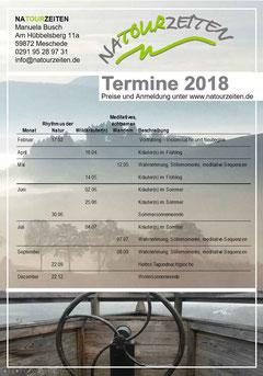 Einleger Prospekt Termine 2017