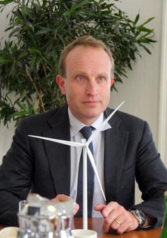 「デンマークの知見が震災後の日本に役立つのでは」と語るMartin大臣