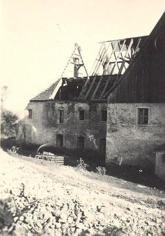 Bild: Wünschendorf Rittergut Abriss