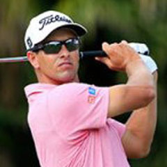 ADAM SCOTT, 4 TIME PROFESSIONAL CHAMPION PGA Tour Player