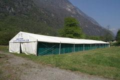 Panoramica della stalla
