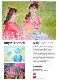 Ausstellung «Bali - Impressionen», Asien-Afrika-Institut, Universität Hamburg, Deutschland, 2015