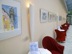 Ausstellung «Landschaften - Strassenszenen», Hotel Bellevue, Hapimag Interlaken, Schweiz. 2011