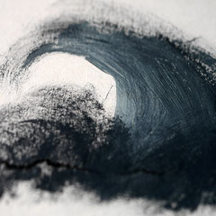 Collage  CAVE, Mischtechnik Thomas Autering