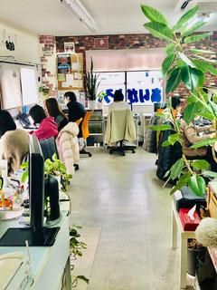 宇治市城陽大久保のパソコン教室ありがとう。授業風景