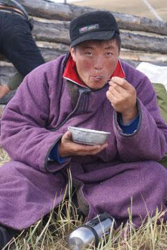 Famille nomade mongole