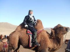 La Mongolie en chameau l'hiver