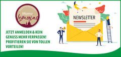 Banner Genuss Newsletter