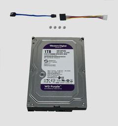 1 TB Festplatte, 1000 GB Festplatte, Western Digital, SATA 3,5, über SafeTech lieferbar