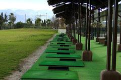 Oliva Nova Golf, Driving Range, Costa de Valencia, Spanien, 03/2012