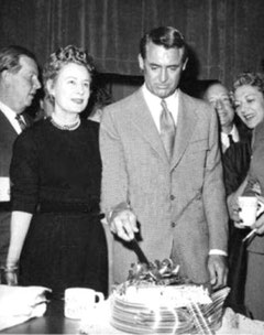 """The Awful Truth"" - the day of broadcast was Cary's birthday"