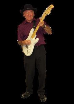 Michel, guitare et chant depuis 2004