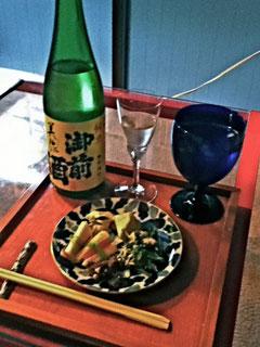 日本酒も取り寄せてくれたなんて!