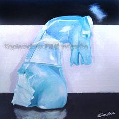 Nr.2046  Der blaue Springer
