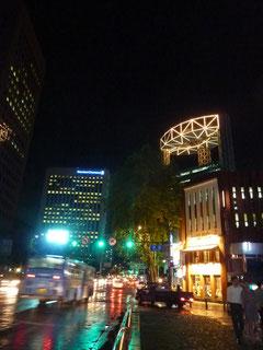 清渓川近辺の夜景