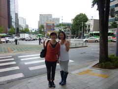 午前中ツアーに申し込んだら、ガイドさんは東京中野区に住んだこともあるというキム・ミニョさん。わかりやすくて楽しい案内をありがとう(^^♪