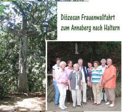 Diözesan Frauenwallfahrt zum Annaberg nach Haltern