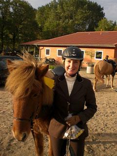 Kirsten Kruse, Reiterin aus Leidenschaft