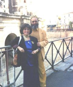 Shimon REUBEN & Nehama REUBEN.DUO REUBEN. Festival de Harpe d'ARLES. FRANCE Octobre 2002.