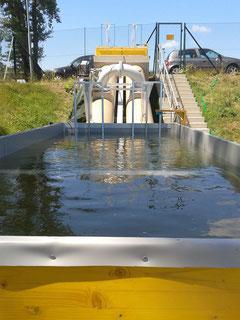 FISHCON Fischwanderhilfe Versuchsanlage 2