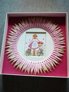 cadre la cardabelle de yveline carte de brigitte legendre