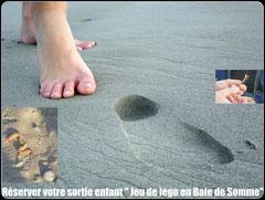 Balade nature de découverte pour les enfants en Baie de Somme©Découvrons la Baie de Somme