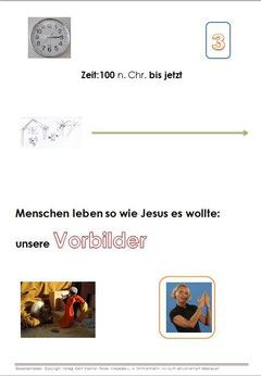 Ordnereinteilung für Christen
