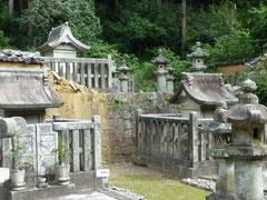 日本一の規模.松平家廟所