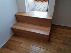 Zugangstreppe für Dachterrasse