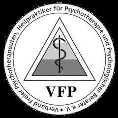 Psychotherapie Beratung Kinesiologie Wiesbaden - Praxis Anja de Boer - VFP Logo