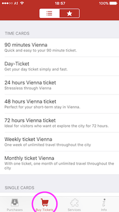 download local transport apps to purchase mobile tickets