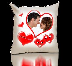 """Coeur """"I Love You"""", personnalisable dans le coeur."""