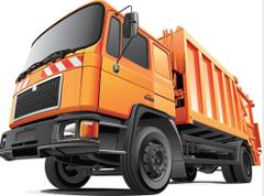 Eine Müllfahrzeug-Flotte benötigt eine enorme Mengen Motoröl
