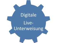 Digitale Online-Unterweisung mit Videokonferenz