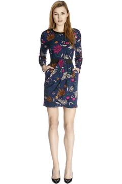 Warehouse tropical floral dress