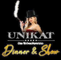 Logo Unikat - das Weihnachtsvariete | Dinner und Show